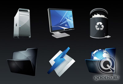 HP Dock Icon Set - Иконки для веб-сайта