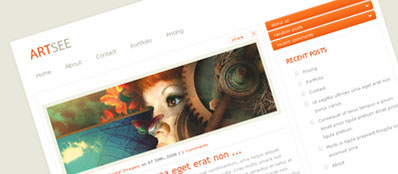 ET Art See - Шаблон для WordPress