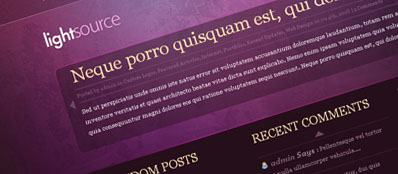 ET LightSource - Шаблон для WordPress