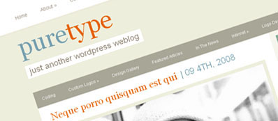 ET PureType - Шаблон для WordPress