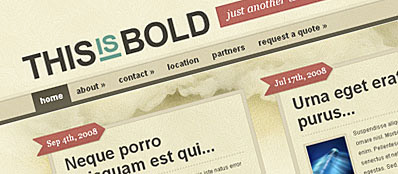 ET Bold - Шаблон для WordPress