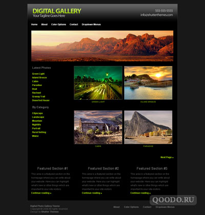 iT Digital Gallery - Шаблон для WordPress