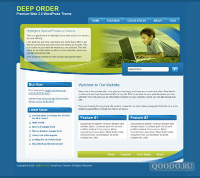 iT Deep Order - Шаблон для WordPress