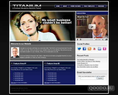 iT Titanium - Шаблон для WordPress