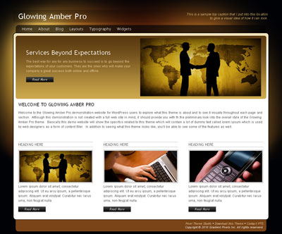 pixelthemestudio_Glowing-Amber-Pro
