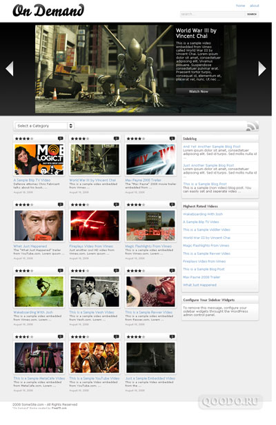 Press75 On Demand v1.2 - Шаблон для WordPress