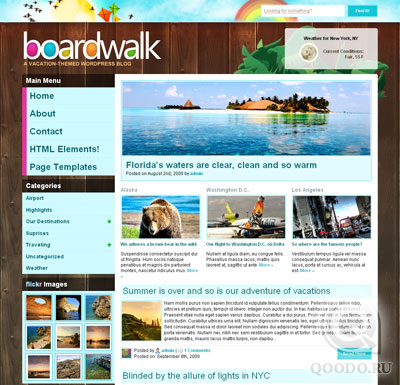 WPNow BoardWalk - Шаблон для WordPress