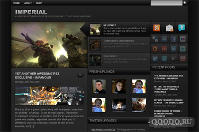 ThemeForest Imperial - Шаблон для WordPress