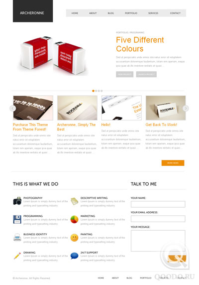 ThemeForest Archeronne