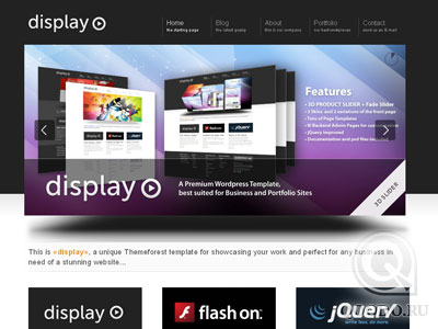 ThemeForest Display 3 in 1