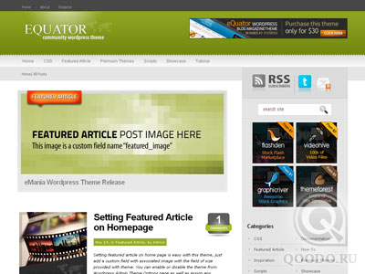 ThemeForest eQuator