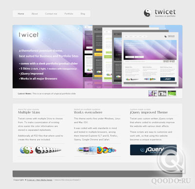 ThemeForest Twicet